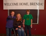 Welcome Home, Brenda!
