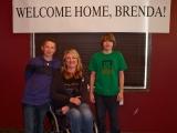 Welcome Home, Brenda!