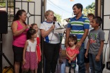 Thanks Lorraine Thexton and Family, Such Great Supporters! Meet Five More Happy SalvadorianFamilies!