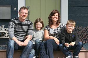 Doug, Erin, Alissa and Lukas Anderson