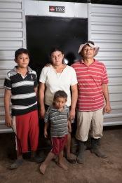 Carmen & Luciano Ayala have three children, Kevin, Oscar, & Ever