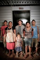 The Martinez Family: José, Dilma, Leonidas, Jernan, Zaira & Jansi